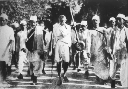 Gandi Salt March Mar 1930